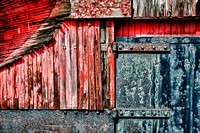 Red, Rust  and Blue